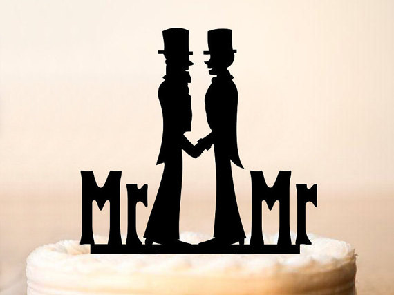 10 Chic Cake Toppers For Same Sex Couples Love Inc