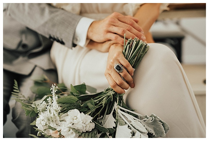 A Vintage Wedding Inspiration Shoot With Navy And Gold