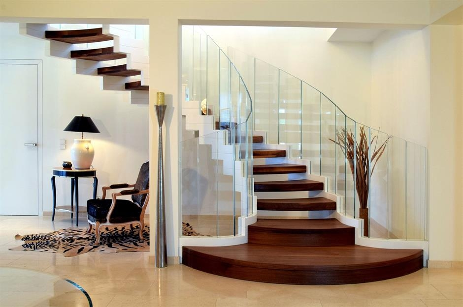 Stylish Staircase Ideas To Suit Every Space Loveproperty Com   Half Round Stairs Design   Grand Staircase   Wooden   Rounded   Railing   Beautiful