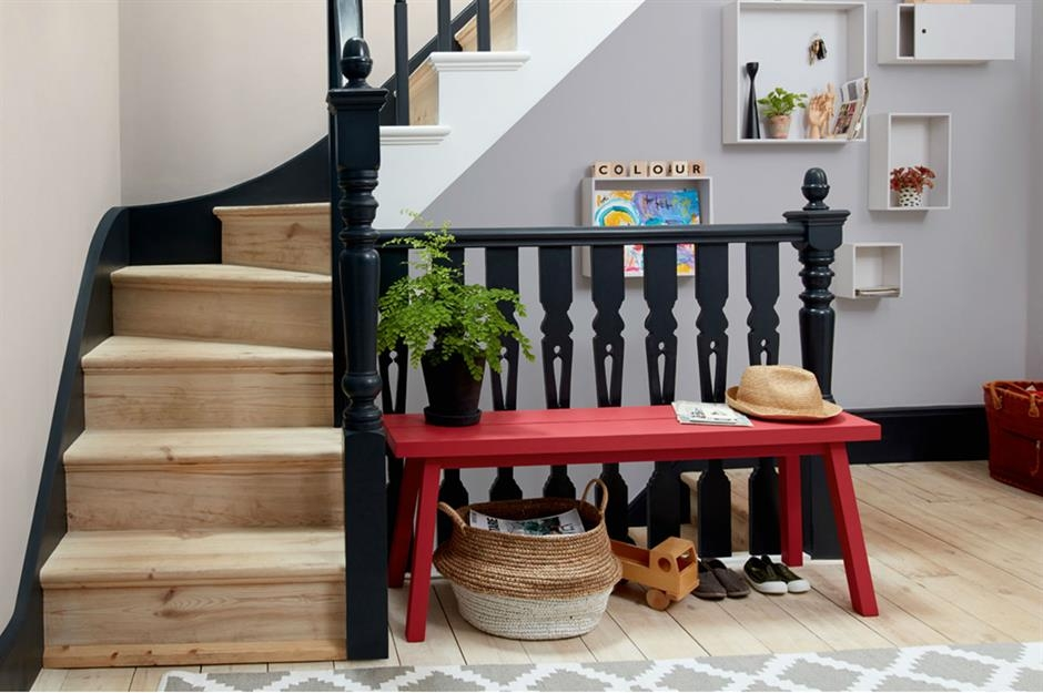 63 Hardworking Hallway Ideas That Don T Scrimp On Style | Staircase In Hall Design | 2 Storey House | Low Budget | Step Side Wall | Steel Verandah | Mansion