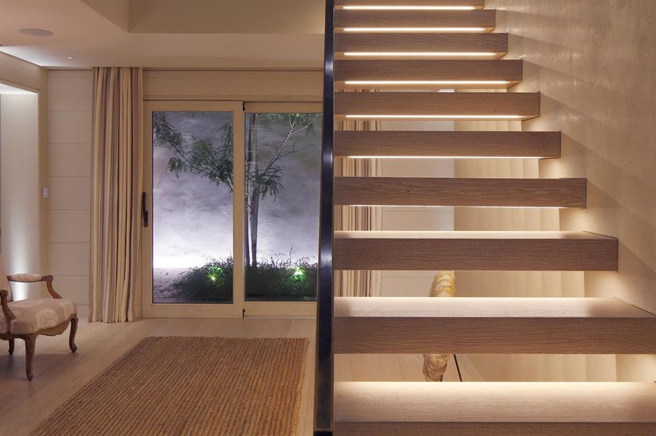 Stylish Staircase Ideas To Suit Every Space Loveproperty Com   Open Concept With Stairs In Middle   Space   Dining Room   Kitchen   House   Living Room
