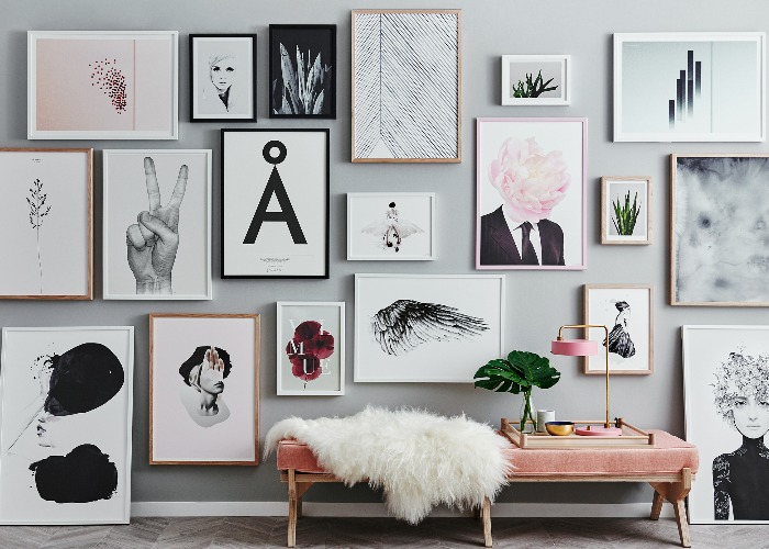 7 gorgeous gallery wall layouts that work every time