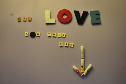 cute wall post