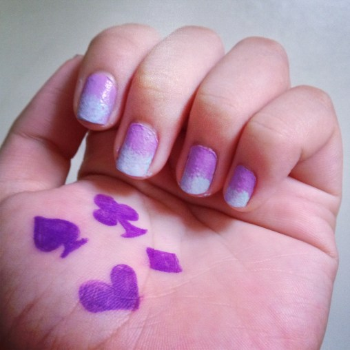 ombre' nails c/o Jeanne