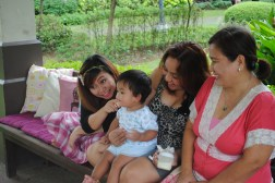 bonding with titas and lola