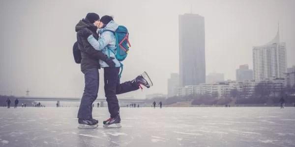 Ako si najlepšie užiť korčulko na Dunaji vo Viedni