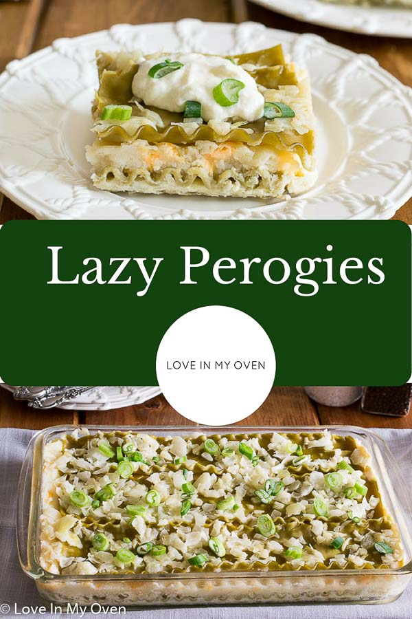 lazy perogies