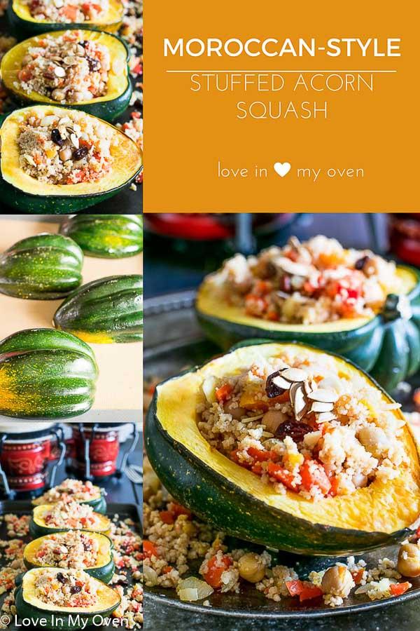 moroccan acorn squash