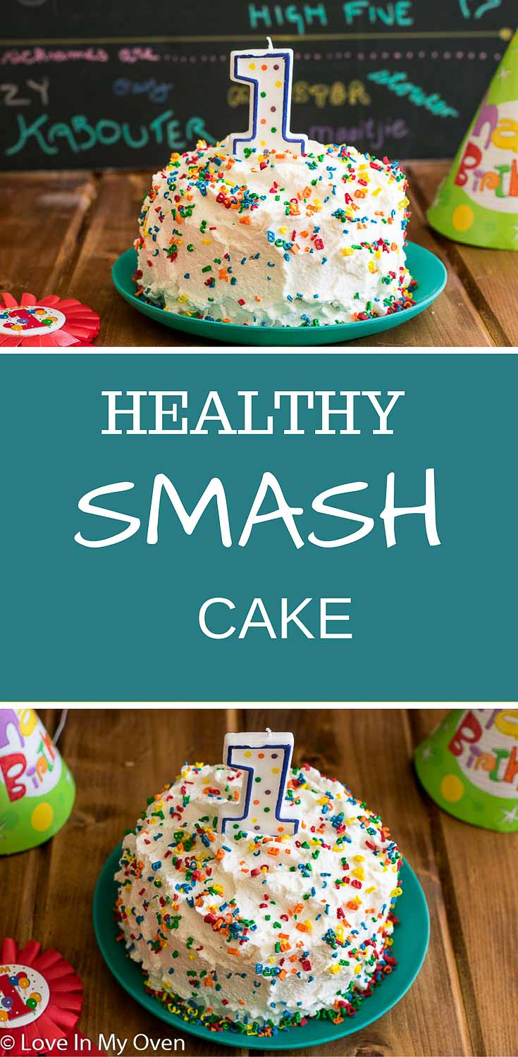 Let your baby have all the fun of their very own smash cake, free of refined sugars and unhealthy fats.