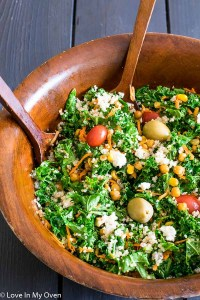 Roasted Corn and Chickpea Salad