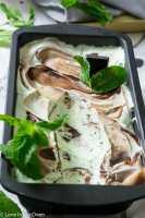 Real Mint Chocolate No Churn Ice Cream