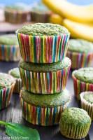 green monster muffins