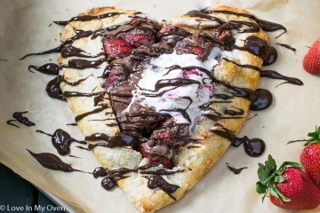 Strawberry Nutella Galette