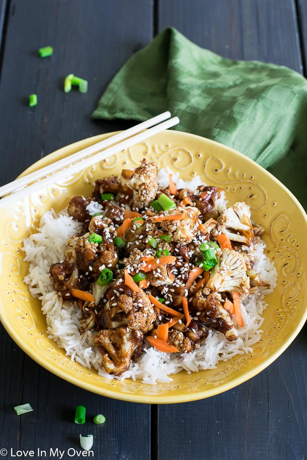 Crispy Mongolian Cauliflower