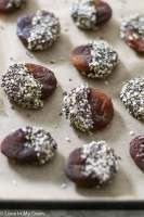 Chocolate Chia Apricots
