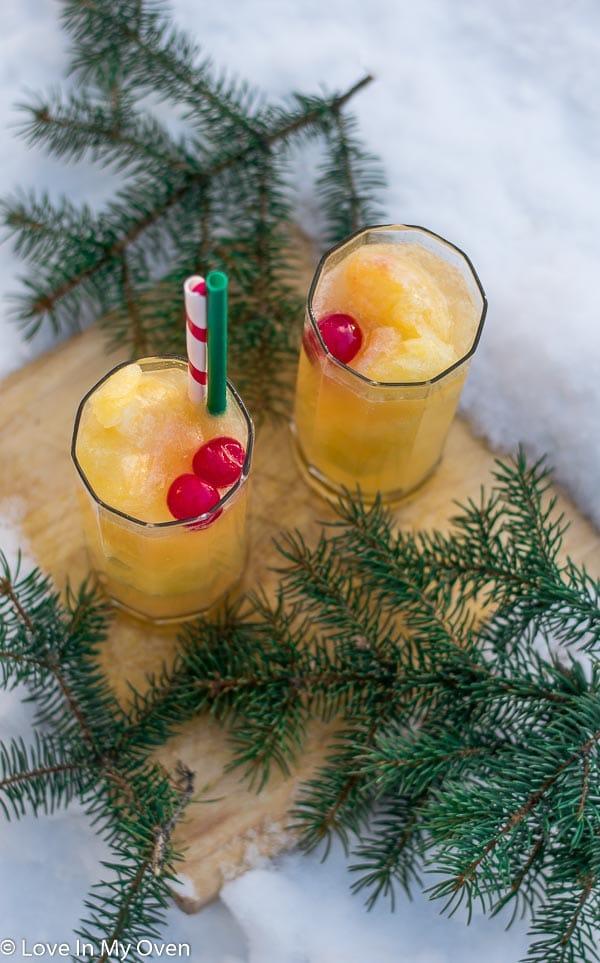 Boozy Christmas Slush
