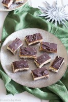Chocolate Caramel Bliss Bars