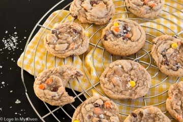 Browned Butter Reese's Pieces Cookies-2
