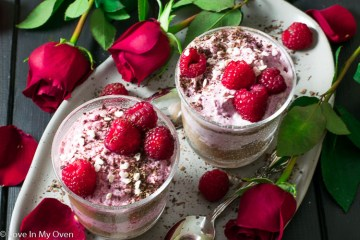 Easy Raspberry & Chocolate Mousse