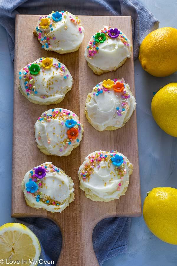 Lovely Lemon Cream Cheese Cookies
