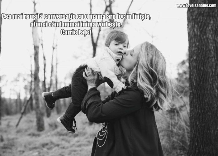 Descoperă o serie de citate cu imagini despre mama care pot să-ți servească ca sursă de inspirație pentru Ziua Mamei.