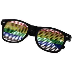Rainbow Sunglasses Black