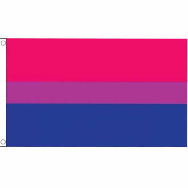 Bisexual Flagge 90 x 150 cm