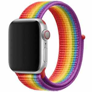 Rainbow Nylonband IWatch 42/44 mm