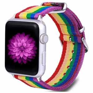 Rainbow Nylonband IWatch