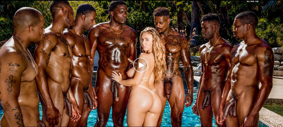 Lena paul interracial gangbang