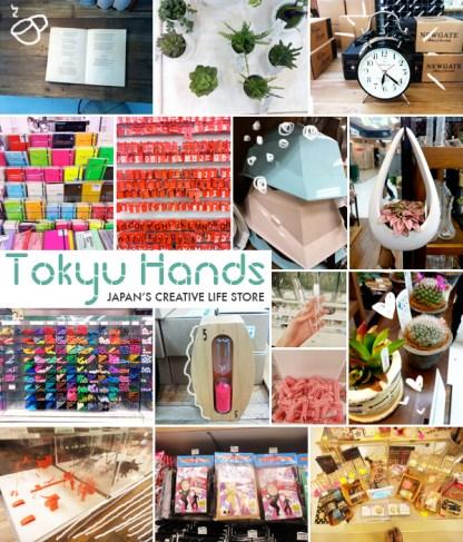 collage-tokyu-hands-japan