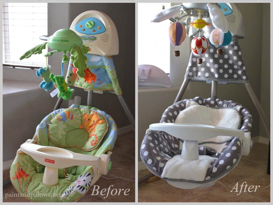 Baby Swing Makeover