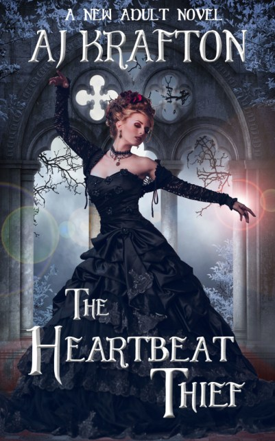 The Heartbeat Thief_AJ Krafton_Kindle cover