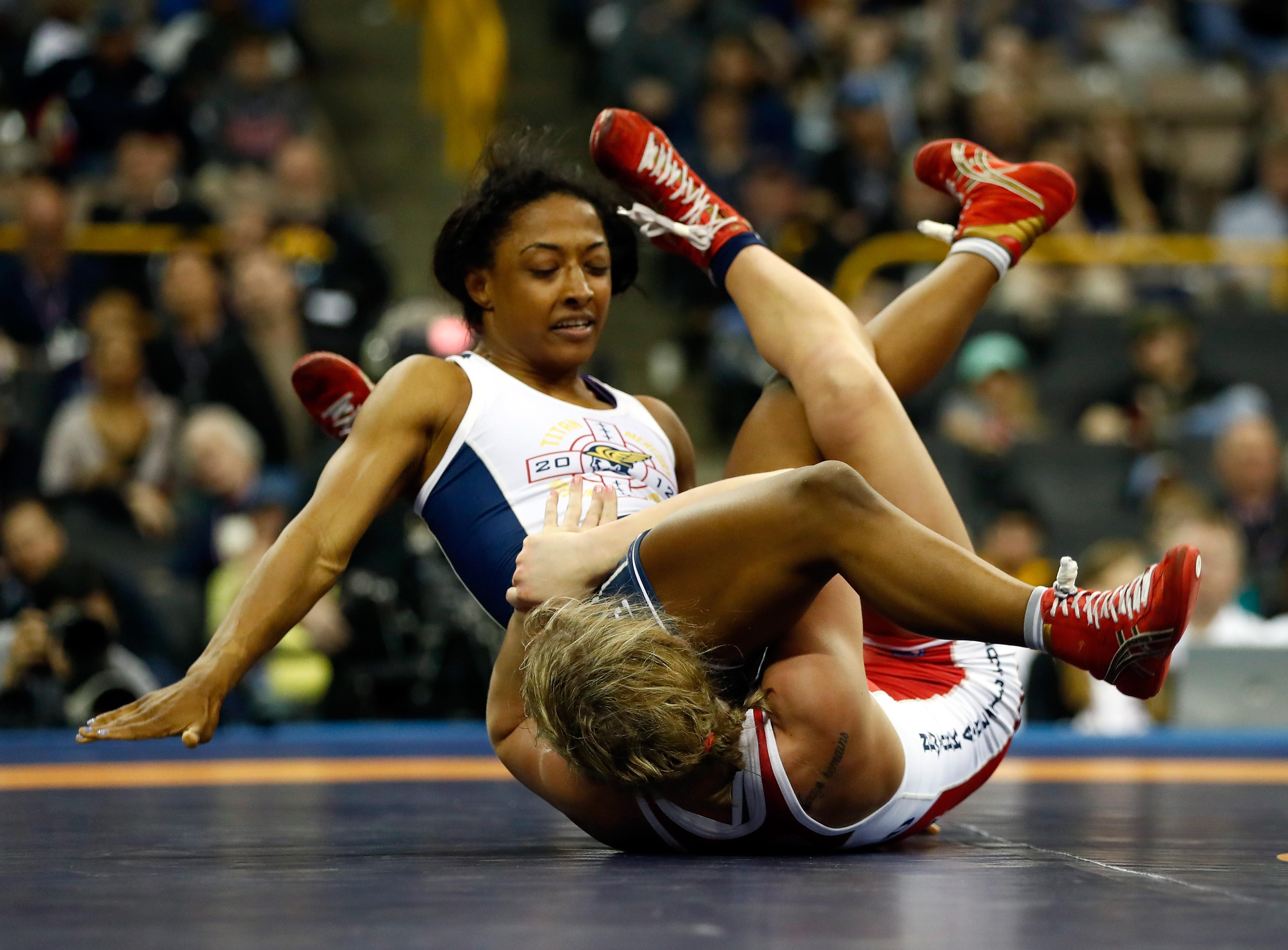 Wrestling, Tops and Women's on Pinterest