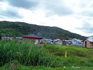 Typhoon temporary housing