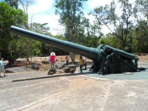 Corregidor gun batterys