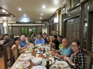 Dinner with clergy (2)