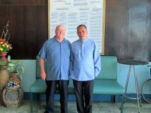 Ed & Fr. Ernie Moral