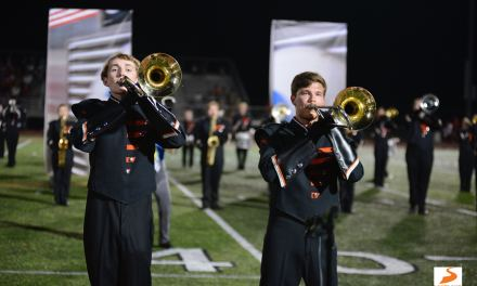 PHOTO GALLERY: Loveland marching band at homecoming halftime