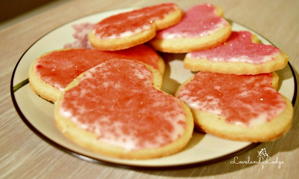 Sugar cookies recipe for Valentine's