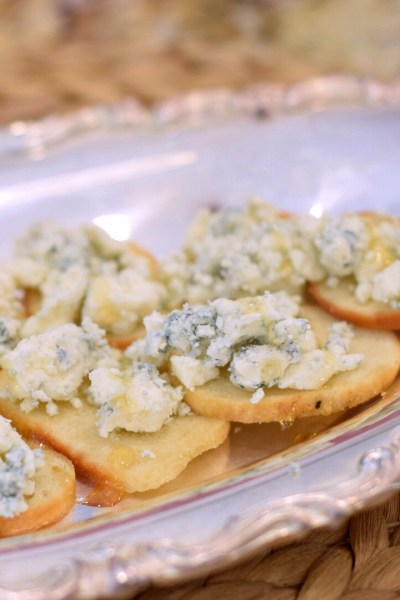 Blue Cheese & Honey Appetizer