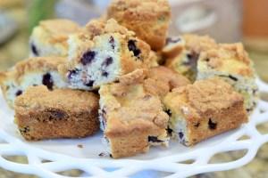 Grandma's Blueberry Coffee Cake Recipe