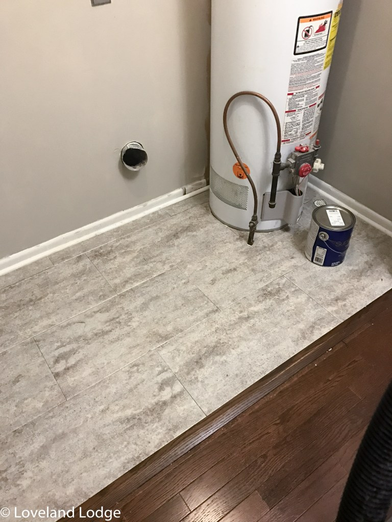Using peel and stick tile