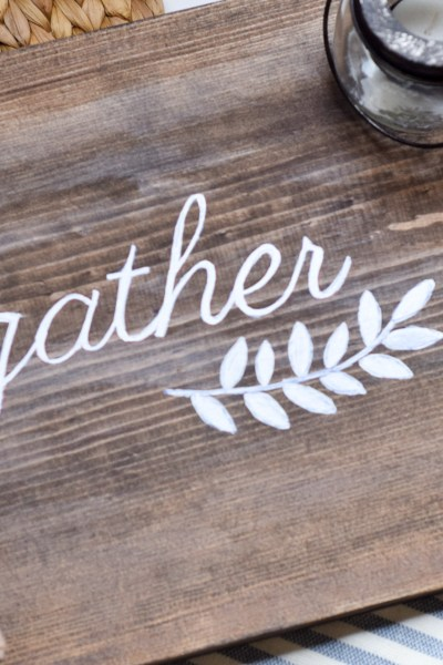 DIY Gather Sign & Printable