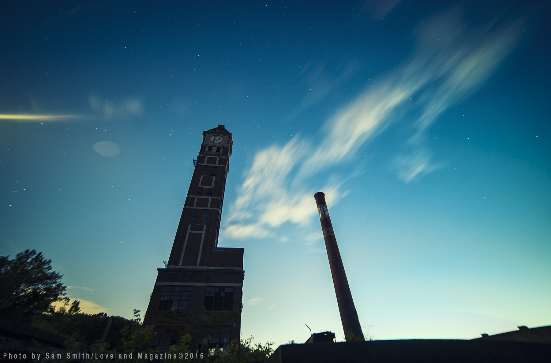 photo essay by sam smith bittersweet farewell to powder factory scifi spire