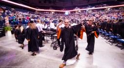 Jack Sexton leaves the stadium. Sexton will be attending Ohio University.