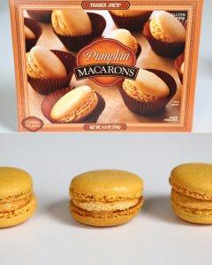 Trader-Joe-Pumpkin-Macarons