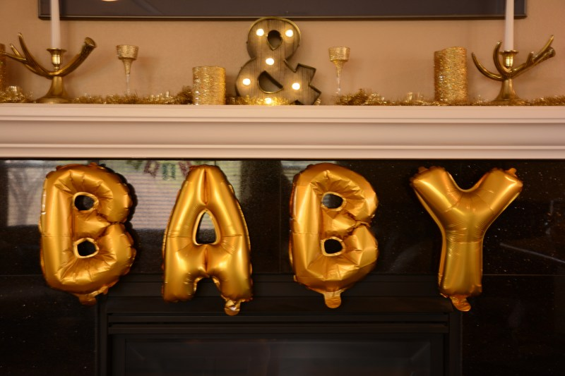 Pink & Gold Baby Shower