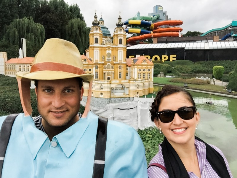 A Park for Selfies – Mini-Europe