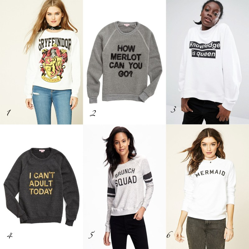 Sunday Styles – Graphic Sweatshirts